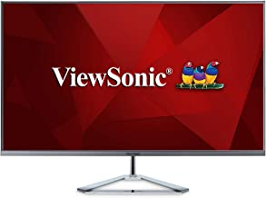 ViewSonic VX3276-2K-MHD 32 Inch Frameless Widescreen IPS 1440p Monitor with HDMI DisplayPort and Mini DisplayPort (Renewed)