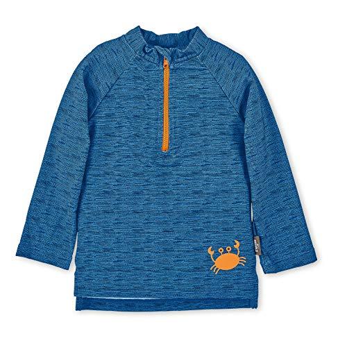 Sterntaler Baby-Boys Langarm-Schwimmshirt Rash Guard Shirt, blau, Large