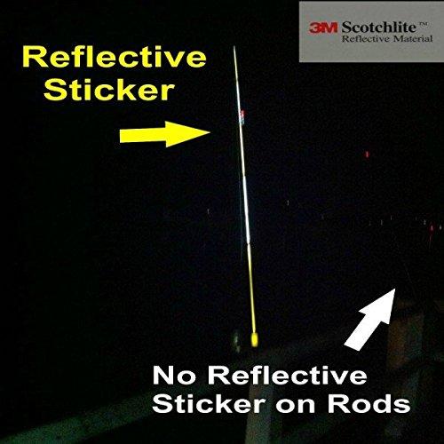 3MTM-Cinta adhesiva reflectante material reflectante 3MTM Caña de pescar 3 metros vettino-blanco