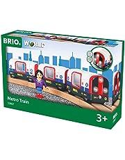 BRIO 33867 trene de Juguete - Trenes de Juguete (Multicolor, Madera, 3 año(s))