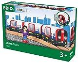 BRIO World 33867 - U-Bahn mit Licht und Sound