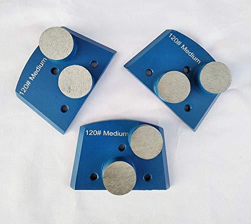 Trapazoidal Diamond Grinding Discs for Concrete Floor Grinding Medium Bond...