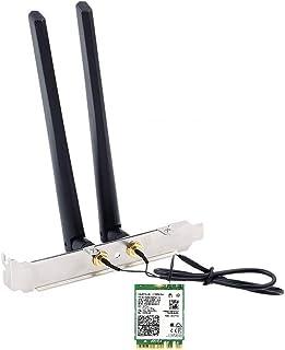Wi-Fi 6 AX200 AX200NGW Wi-Fi 6 802.11ax + Bluetooth 5.0 M.2/NGFF ワイヤレスカード アンテナとブラケットを含みます