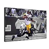 Five-Seller NFL Poster Pittsburgh Steelers # 30 Von James