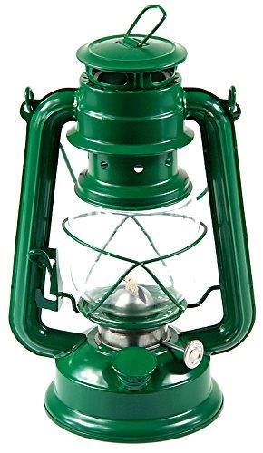 Petroleumlampe Petroleumlaterne Outddor Camping Petroleum Lampen 24cm verschiedene Modelle (grün)