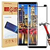 Galaxy Note 8 Screen Protector,Panycase Galaxy Note 8 Tempered Glass,[Case Friendly][[Anti-Bubble][3D Curved Glass] Tempered Glass Screen Protector for Samsung Galaxy Note 8