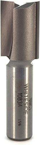new arrival Whiteside Router Bits 1083A lowest Straight Bit with 23/32-Inch Cutting Diameter and sale 1-Inch Cutting Length outlet online sale