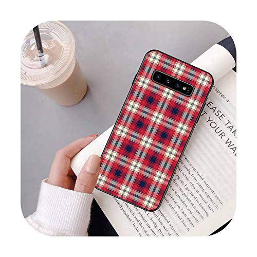Happy-horse - Funda para Samsung Galaxy S6 S6edge Plus S7 S7edge S8 S9 S10 Plus S20-a4-For S6 Edge