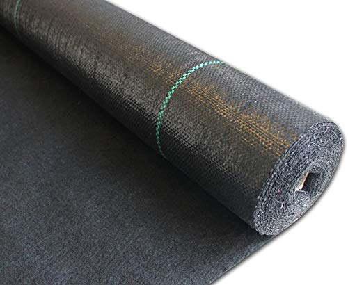 Dalkeyie Weed Control Membrane Fabric Landscape Ground cover, UV stabilised 1M x 100M, Ideal for use in Patios, Garden, Flower beds, Landscaping, Pathways, Drives, Under decking