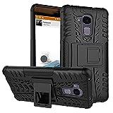 SMTR Huawei Honor 5C (5.2') cas de téléphone, Double Couche Cover Antichoc Case Résistant aux chocs Goutte à l'épreuve Cas de Téléphone Portable Avec Béquille Etui Housse pour Huawei Honor 5C smartphone(Huawei Honor 5C,noir)