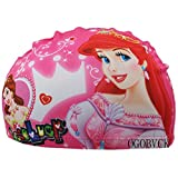 OGOBVCK la Natation Hat Childrens Tissu Tissu Bonnet de Bain étanche Cartoon Multicolore Bonnet de Bain garçon ou Fille (Mermaid)