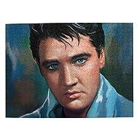 Elvis Presley エルヴィスプレスリー (1)ジグソーパズル 1000ピース 知育玩具 男の子 、女の子おもちゃ 教育ゲーム 知的 子供 けパズル 人気 誕生日プレゼント(52.2*38.5cm)