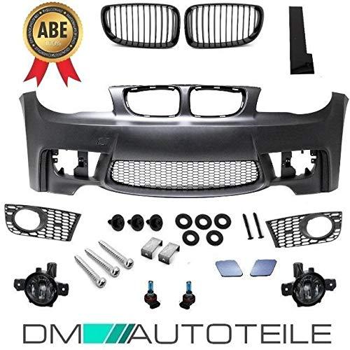 DM Autoteile Sport Stoßstange vorne passt für E81 E82 E87 E88 nicht M+ Nebel Smoke+ ABE*