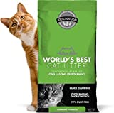 World's Best Cat Litter Original Series 14 Pound Bag,Outstanding Odor Control, Quick CLUMPING & Easy SCOOPING, PET, People & Planet Friendly (Fast Delivery)