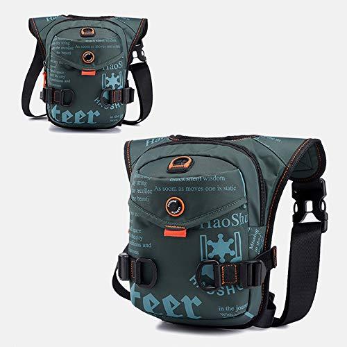 Waist Bag Leg Bag Multifunction Thigh Bag Leg Bag for Bicycle Motorcycle Mountain Bike Sports Travel Camping Cycling Motorcycle (17 x 8 x 25), Camouflage