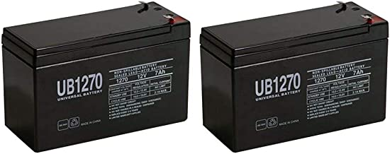 Replacement Battery for APC Back-UPS ES 550VA - 2 Pack