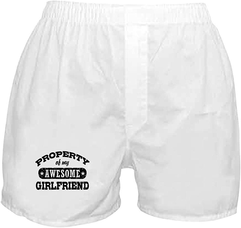 CafePress 1 year warranty Property Discount is also underway of My Boxer Girlfriend Shorts Awesome