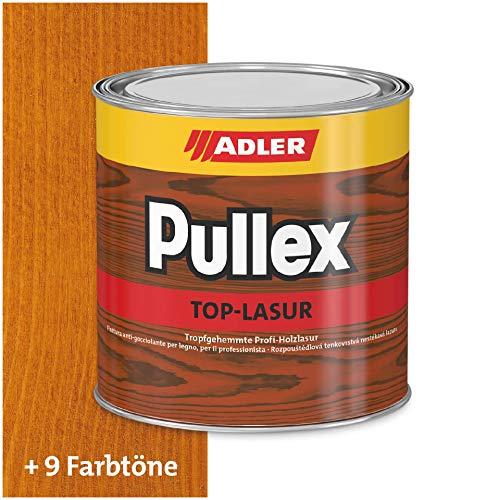 ADLER Pullex Top-Lasur - 5 L Kiefer - Tropfgehemmte Holzlasur in Profi-Qualität für Holz außen - Lasur in verschiedenen Holzfarbtönen