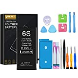 Vancely Batteria per iphone 6S 2200mAh, Ricambio Alta Capacità con 29% in più rispetto ad altre batteria Sostituzione con kit smontaggio cacciavite strumenti di riparazione