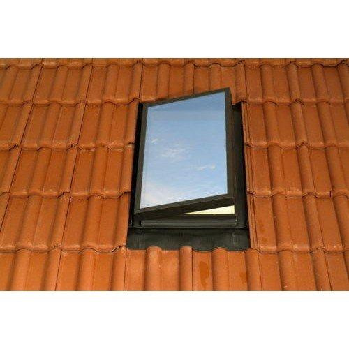 Fenstro Access Skylight 45cm x 55cm Exit Roof Window with Flashing