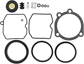 CV Carburetor Rebuild Carb Repair Kit for Harley-Davidson Bad Boy Dyna Electra Glide Fatboy Heritage Softail Springer Low Rider Night Train Road King Sportster 1200 883
