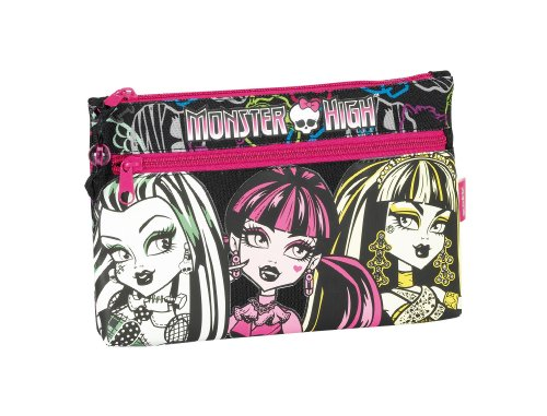 Monster High - Portatodo dos cremalleras