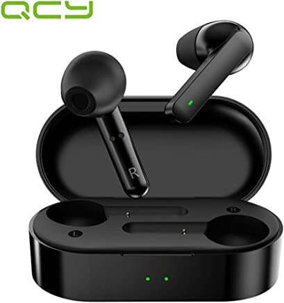 QCY T3 Bluetooth 5.0 TWS Nose Cancellation Mini Wireless, Black