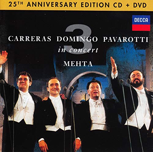 The Three Tenors 25th Anniversary [CD/DVD Combo] Classical Opera Vocal