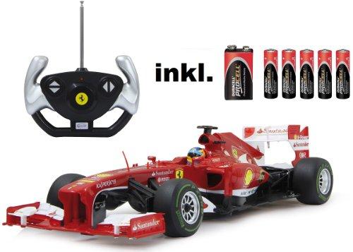 BUSDUGA RC Ferrari F1 1:12 Rennwagen ferngesteuert Version 2013 - inkl. Batterien - Lizenz-Nachbau*