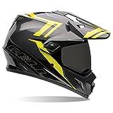 Bell MX-9 Adventure Barricade Hi-Vis Dual Sport Helmet - Small