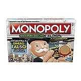 Juego de Mesa Monopoly Decodificador para Toda la Familia y niños y niñas de 8 años en adelante - Incluye un Decodificador del Sr. Monopoly para Encontrar falsificaciones - para 2 a 6 Jugadores