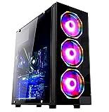Pc Gamer Fácil Intel Core I3 9100F 8GB DDR4 GeForce GTX 1650 4GB DDR6 HD 500GB 500W