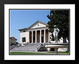 Villa Badoer Fratta Polesine Facciata 20x23 Framed and Double Matted Photo