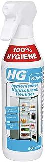 HG hygienisk rengörare för kylskåp (1 x 500 ml) – ett kylskåp rengöringsmedel för grundlig rengöring och fräsch doft i kyl...
