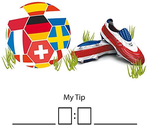 Duni Tissue Fußball Servietten 33 x 33 cm My Tip, 20 Stück