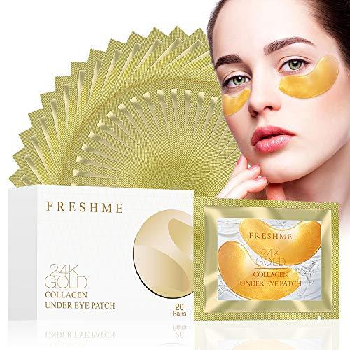 Gold Collagen Under Eye Mask - Collagen Anti Wrinkle Aging Puffiness Eye...