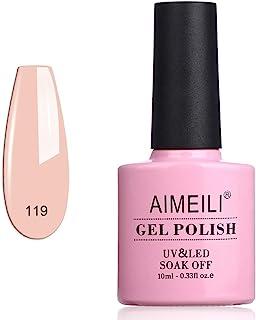 AIMEILI Soak Off UV LED Gel Nail Polish - Clivia Miniata (119) 10ml