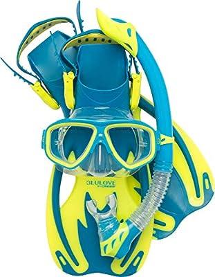 Cressi Rocks Kids Set, cool blue, S/M