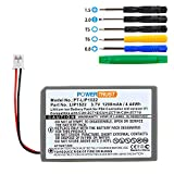 PowerTrust 1200mAh LIP1522 Replacement Battery for Sony Playstation 4 PS4 Dualshock 4 Wireless Controller CUH-ZCT1E CUH-ZCT1U-2015 Older Version