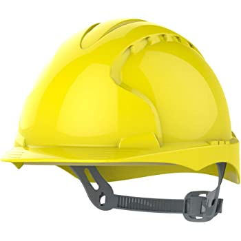 JSP – aje030 – 000 – 200 EVO2 – Casco de seguridad con antideslizante RATCHET, amarillo: Amazon.es: Industria, empresas y ciencia