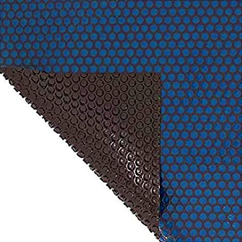 Sun2Solar Blue/Black 16-Foot-by-32-Foot Oval Solar Cover   800 Series Style   Heating Blanket for In-Ground and Above-Ground Round Swimming Pools