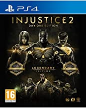 Injustice 2 Legendary Edition Day One Edition - Steelbook with exclusive DLC (PS4) UK IMPORT REGION FREE