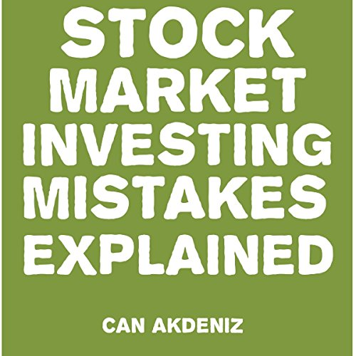 Stock Market Investing Mistakes Explained audiobook cover art