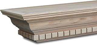 Sams Creek Forest Products Winfield Mantel Shelf 72in W x 7-3/4in D x 4-3/8in H Red Oak
