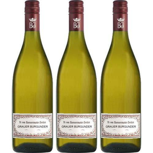 Bassermann-Jordan Grauer Burgunder 2018 Weißwein trocken (3x 0,75 L)