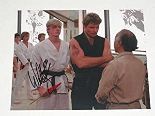 william zabka autograph