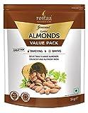 Rostaa Premium Classic Almonds Value Pack, 1000 g (Gluten Free, Non-GMO & Vegan)