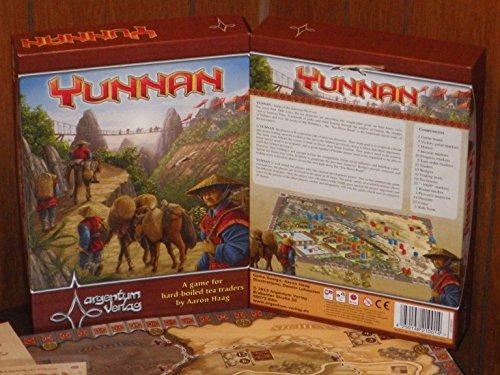 Argentum Verlag ARG01001 - Yunnan Englisch, Brettspiel