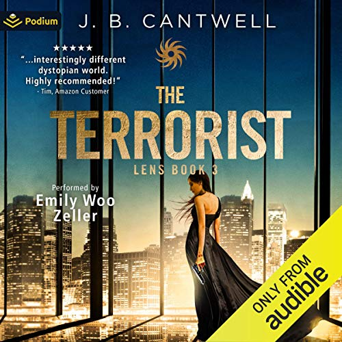 The Terrorist Audiobook By J.B. Cantwell cover art