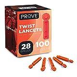 Prove Twist Top Lancets, 28 Gauge